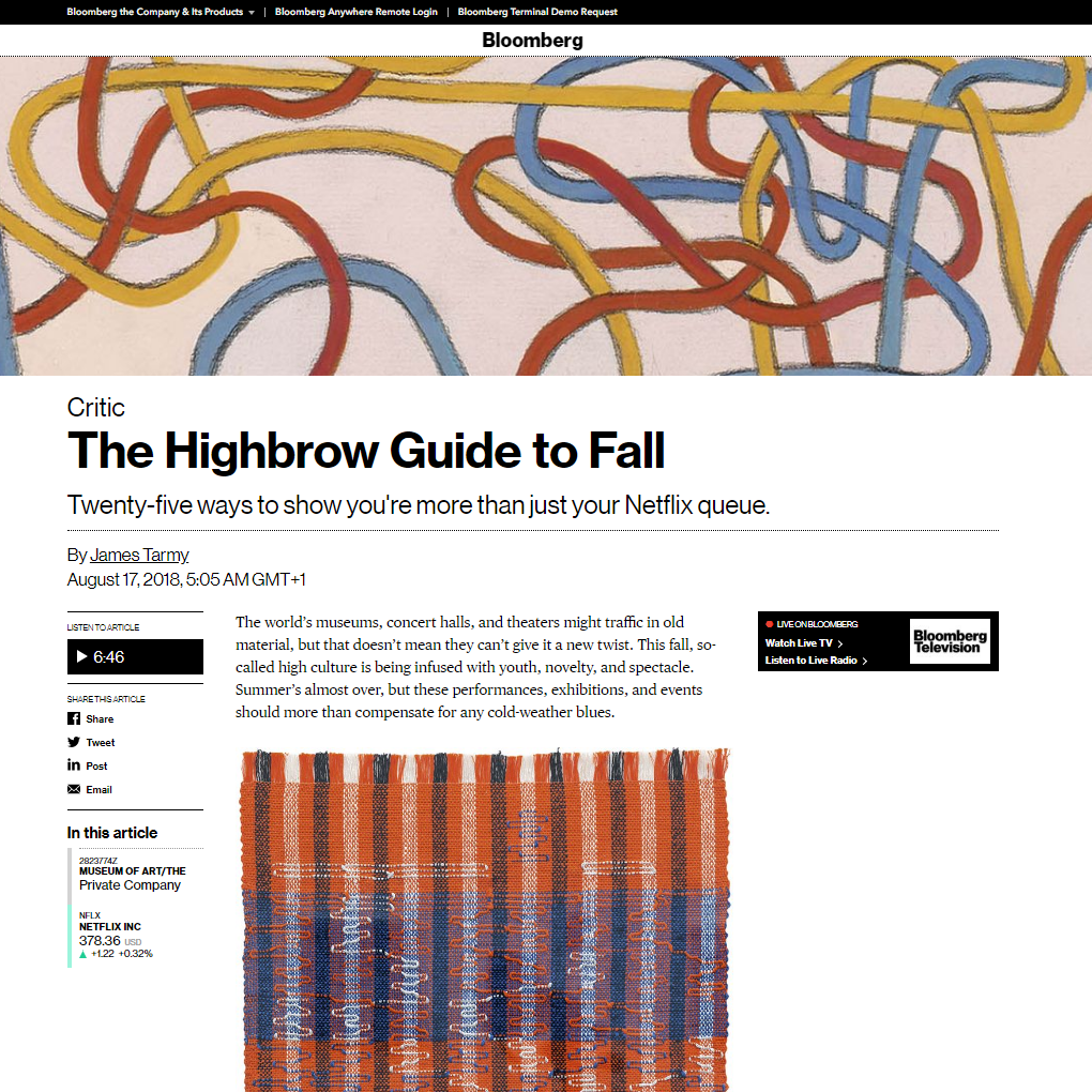 The Highbrow Guide to Fall