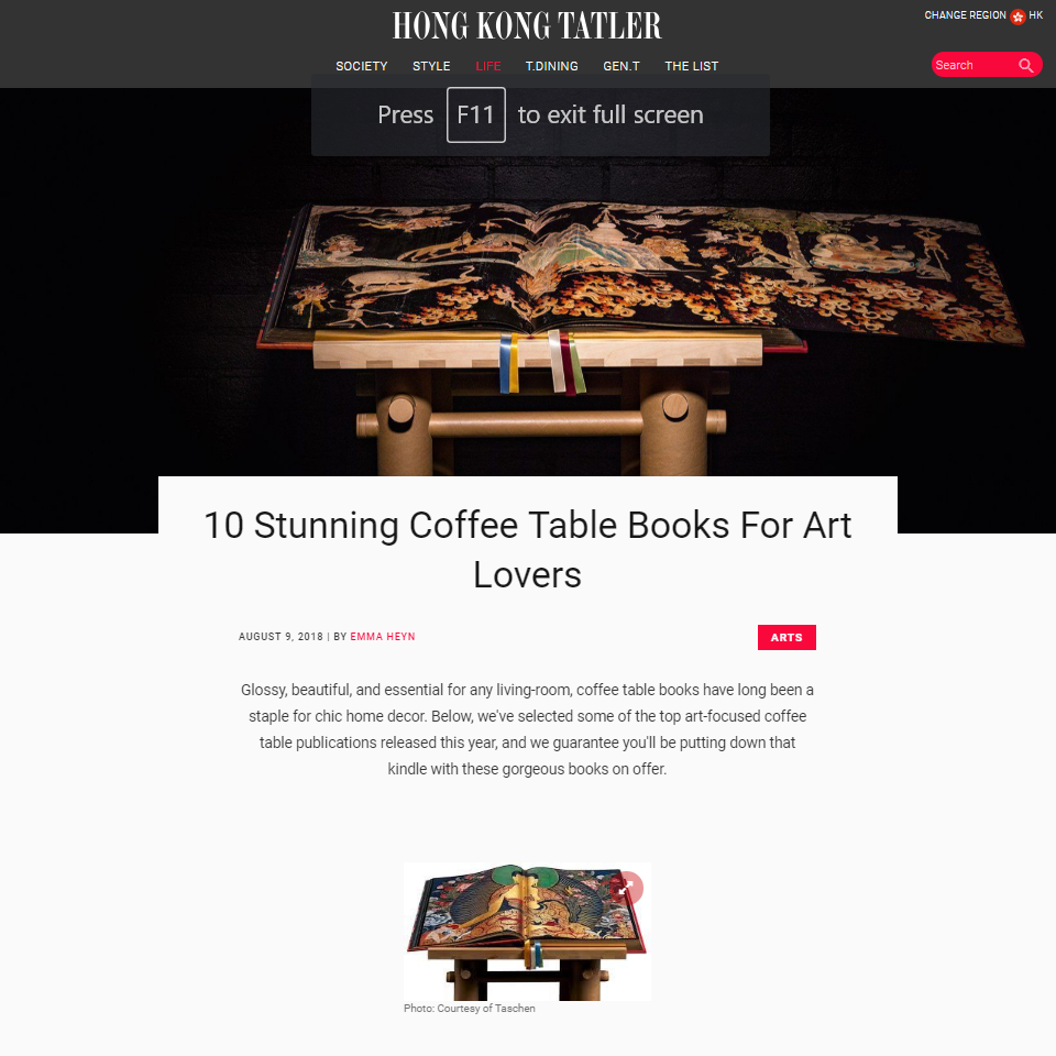 10 Stunning Coffee Table Books For Art Lovers