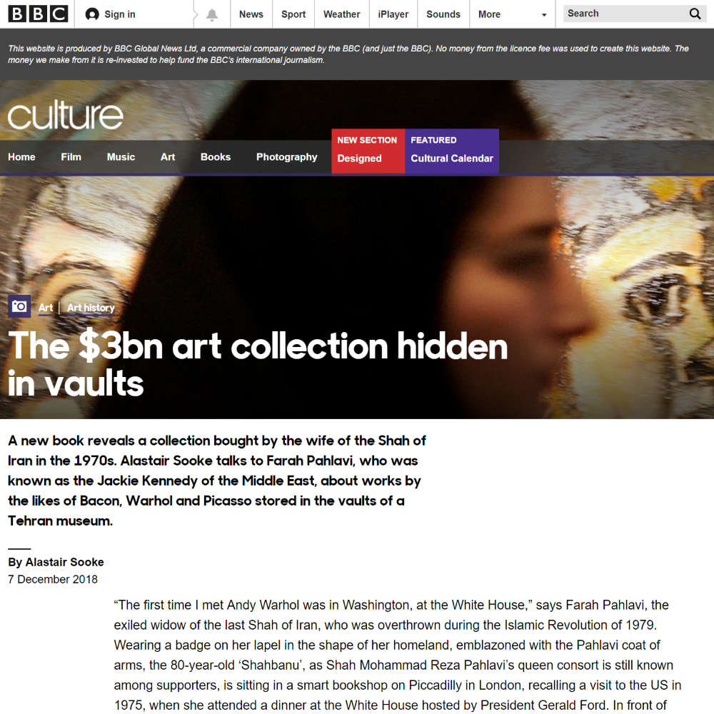 The $3bn art collection hidden in vaults